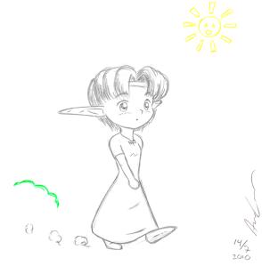 Chibi Mei walk